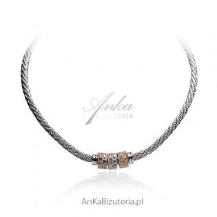 Naszyjnik srebrny Biżuteria włoska