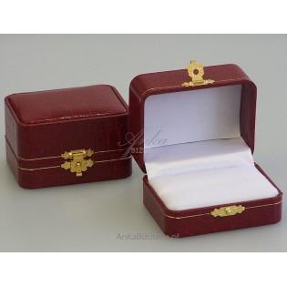 Eleganckie opakowanie jubilerskie na pierścionek, obrączkę
