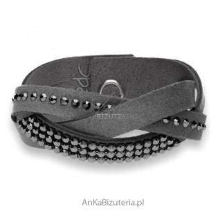 Swarovski biżuteria bransoletka warkocz