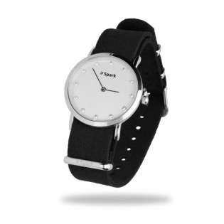 Zegarek SENCILLO z kryształkami Swarovski