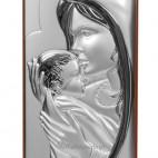 Maryja matka - całująca w czółko maleńkiego Jezusa - niezwykła pamiątka. GRAWER