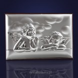 Two silver angels for a small Angel 9cm * 6cm GRAWER