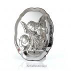 Aniołki dla Dziecka na Chrzest, Urodziny, Komunię - dewocjonalia srebrne GRAWER