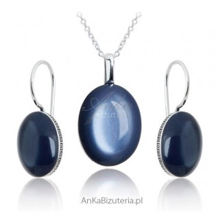 Biżuteria srebrna : Komplet