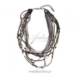 Piękna biżuteria dla kobiet Okazały naszyjnik Biżuteria modowa