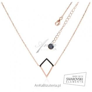 Biżuteria Hiszpania - Naszyjnik srebrny pozłacany -Ekskluzywna kolekcja