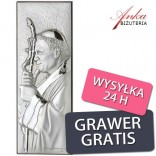 Communion memorabilia Pope John Paul II with Grawer as Communion wishes