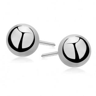 Kolczyki srebrne kulki 0,3 cm
