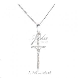 Srebrny krzyżyk - subtelny