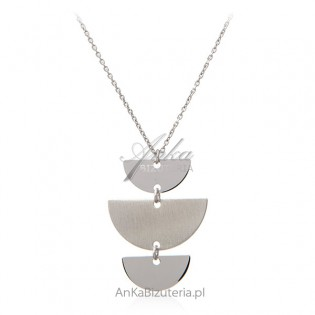 Srebrny naszyjnik - piękna biżuteria włoska