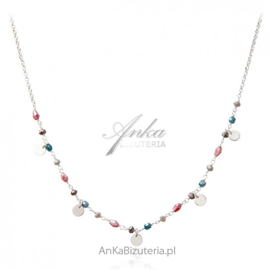 Necklace With Colorful Swarovski
