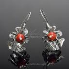 Earrings CORAL AUTUMN