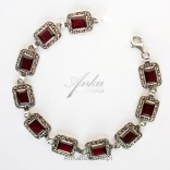 Original Jewelry Silver bracelet Pomegranates and marciani