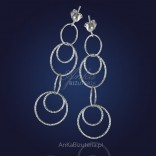Silver earrings - timeless, always fashionable rings.