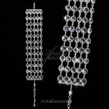 """Set - bracelet and earrings for the bride and not only - """"Panna Migotka"""""""