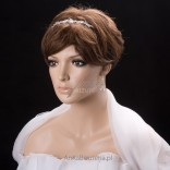 """Hair diadem - """"Dazzle and charm"""" - delicate"""