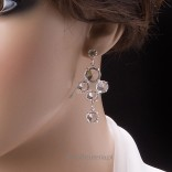 """Earrings, bracelet - perfect set for the bride and not only? """"To catch up with dreams ..."""""""