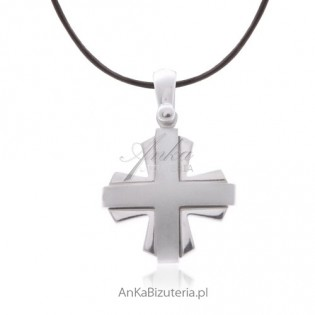 Srebrny krzyżyk
